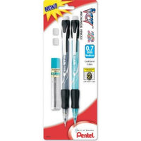 Pentel of America AL29TLEBP2 ICY Mechanical Pencil with Lead & Eraser Refill