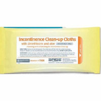 Sage Incontinent Care Wipe Soft Pack Dimethicone Unscented Case of 240