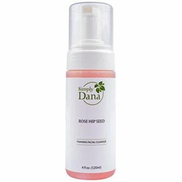 Simply Dana Rose Hip Seed Foaming Facial Cleanser 4 fl oz. (120ml)