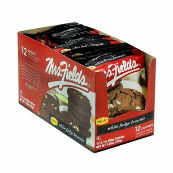 Product Of Mrs Fields, White Fudge Brownie , Count 12 - Cookie & Cracker / Grab Varieties & Flavors