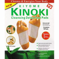 10pcs Kinoki Detox Foot Pads Patch Detoxify Toxins Adhesive Help Sleep Keep Fit