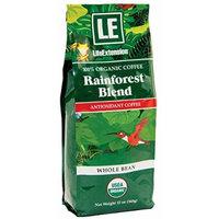Life Extension Rainforest Blend Coffee, Natural, 12 Ounce