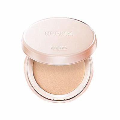 CLIO Nudism Moist-Fit Powder, Pact 02 Lingerie