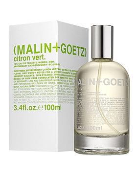 MALIN+GOETZ citron vert eau de toilette, 3.4 oz