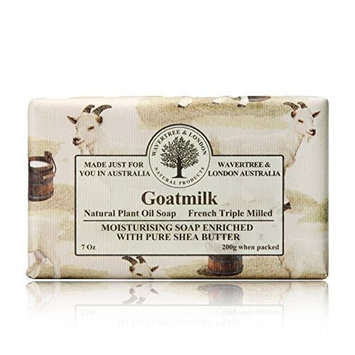 Wavertree & London Goatmilk luxury soap (1 bar) by Australian Natural Soap