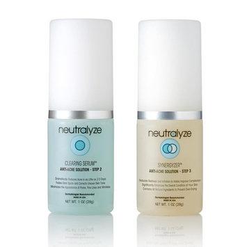 Neutralyze Moderate To Severe Acne Clearing Serum & Synergyzer - Maximum Strength Acne Serum + Acne Gel, 2-Step Acne Treatment With Salicylic Acid + Mandelic Acid + Nitrogen Boost Skincare Technology