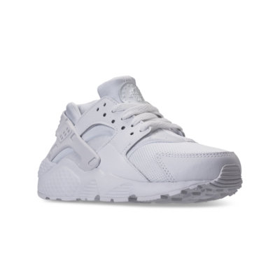 Kids Nike Huarache Run GS White Pure Platinum 654275-110
