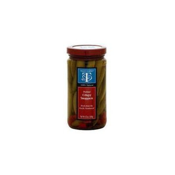 Tillen Farms Pickled Crispy Snap Peas Hot and Spicy -- 12 oz by Tillen Farms