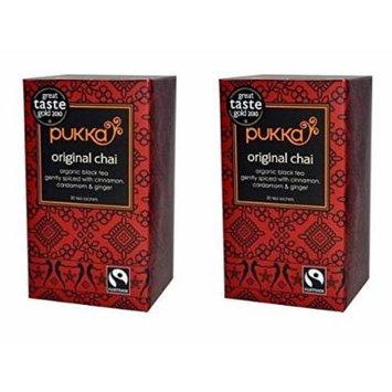 (2 PACK) - Pukka Original Chai Tea| 20 Bags |2 PACK - SUPER SAVER - SAVE MONEY