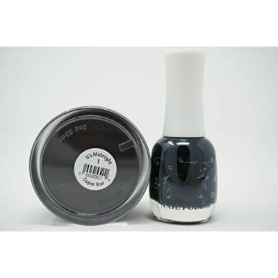 SuperStar 2-in-1 Nail Dip Powder Duo Matching (01-It's Midnight)
