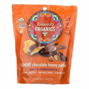HVNOG, Heavenly Organics Heavenly Organic Honey Pattie - Chocolate - Case of 6 - 4.66 oz. - Pack of 6