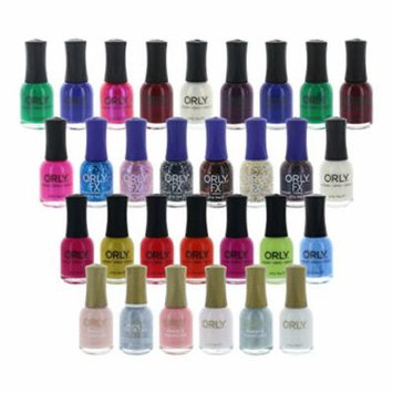 Lot of 10 Orly Finger Nail Polish Color Lacquer All Different Colors No Repeats