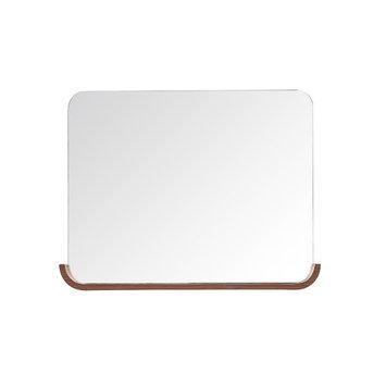 Avanity Siena 26 in. L x 35 in. W Wall Mirror in Chestnut