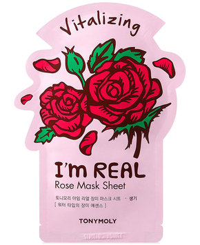 I'm Real Sheet Mask - Rose