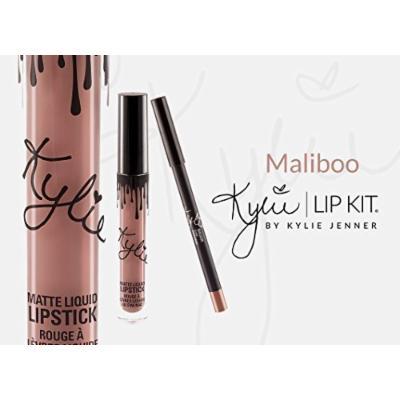 Kylie Cosmetics Lip Kit Maliboo Liquid Lipstick and Liner