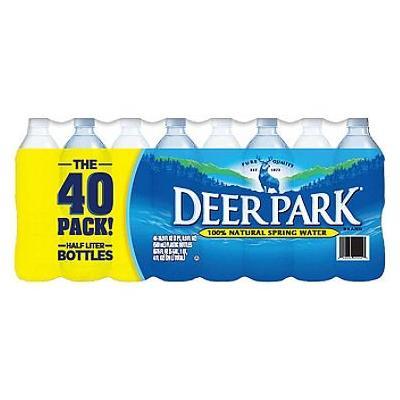 Deer Park Natural Spring Water (16.9 oz. bottles, 40 pk.) (pack of 2)