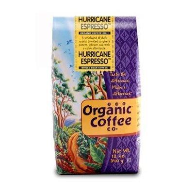 Organic Coffee BCA36878 Hurricane Espresso, 6 x 12 oz