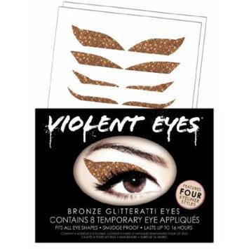 Violent Lips Eye Shadow, Bronze