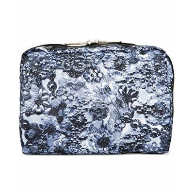 LeSportsac Luggage Women's Extra Large Rectangular Cosmetic Adorn Grey Cosmetic Bag