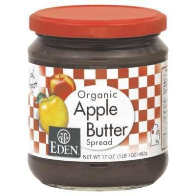 Eden Foods Apple Butter 17 Oz (Pack of 12) - Pack Of 12