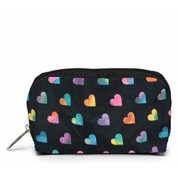 LeSportsac Boxed Rectangular Cosmetic Case (Wild At Heart Pink)