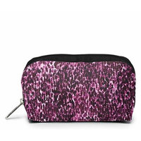 LeSportsac Boxed Rectangular Cosmetic Case (Violet Cheetah)