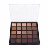MY-secret 25 Colors Matte and Shimmer Eye Shadow Powder Highly Pigmented Professional Cosmetic Makeup Set 25B