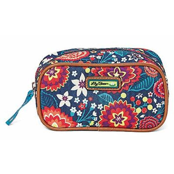 Lily Bloom Carmen Cosmetic Case in Electric Floral
