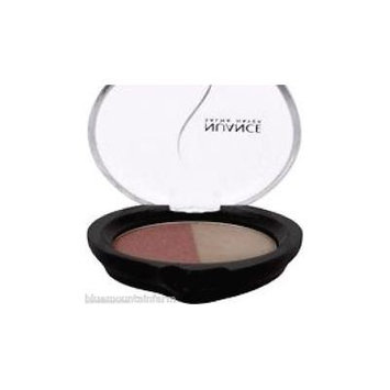NUANCE by Salma Hayek MINERAL Eye Shadow Duo - SHEER PLUM