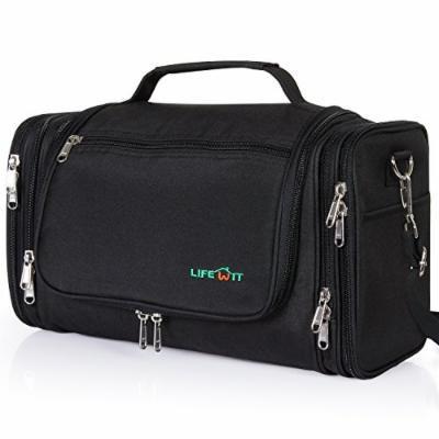 Lifewit Hanging Toiletry Bag Extra Large Waterproof Travel Organizer Cosmetic Makeup Shaving Kit