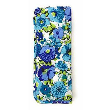 Vera Bradley Curling & Flat Iron Cover in Blueberry Blooms