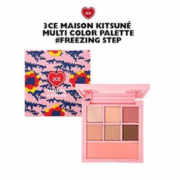 3CE Maison Kitsune Multi Color Palette / makeup palette (Freezing Step)