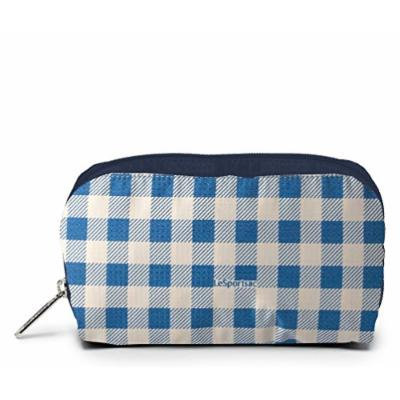 LeSportsac Boxed Rectangular Cosmetic Case (Gingham Dive)