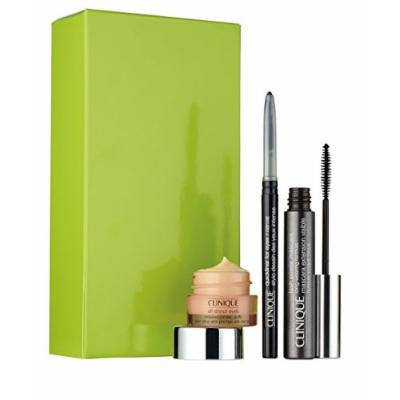 Clinique Life of the Party Eyes Set: Lash Power Mascara + Intense Ebony Quickliner + All About Eyes