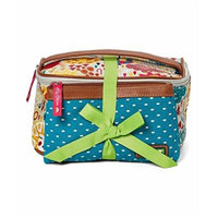 Lily Bloom Abigale Cosmetic Pouch Set in Spring Showers