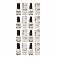 Probelle Nail Hardener Formula 1 - Cures, Repairs and Restores thin, cracked, and peeling nails in weeks (8 Pack)