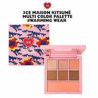 3CE Maison Kitsune Multi Color Palette / makeup palette (Warming Wear)