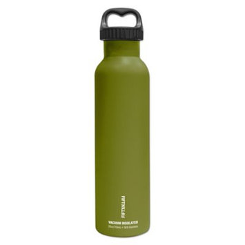 Fifty Fifty Fifty/Fifty Vacuum-Insulated Bottle - 25oz - Olive Green