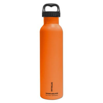 Fifty Fifty Fifty-Fifty V25003OR0 Solar Orange Vacuum-Insulated Bottle 25oz