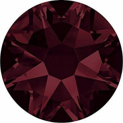 2000, 2058 & 2088 Swarovski Nail Art Gems Burgundy | SS16 (3.9mm) - Pack of 1440 (Wholesale) | Small & Wholesale Packs | Free Delivery