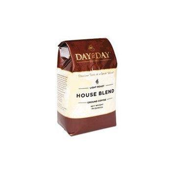 100% Pure Coffee, House Blend, Ground, 28 oz Bag