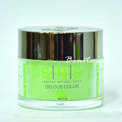 SNS Gelous Color Dipping Powder No Liquid, No Primer, No UV Light BOS10 1 oz