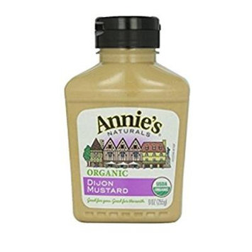 Annie's Homegrown Organic Dijon Mustard - 9 Oz (Pack of 2)