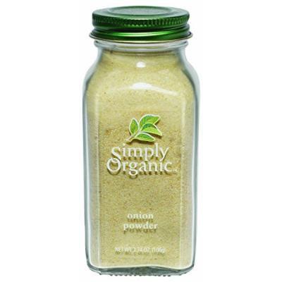 Simply Organic Onion - Organic white onion powder - 3 oz - 95%+ Organic