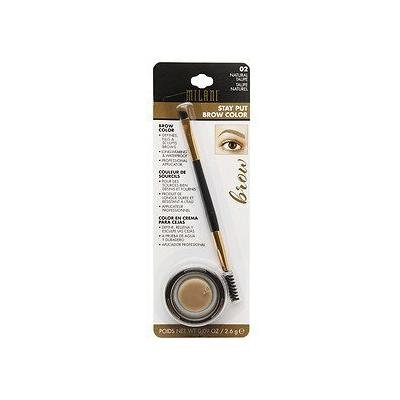 Milani Stay Put Brow Color - 02 Natural Taupe (Pack of 4)