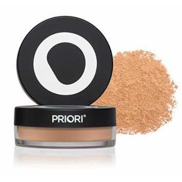 Priori Minerals fx Broad Spectrum 25, All-Natural Powder Foundation, Skin Protection, Correction, Perfection, sunscreen protection SPF25, Loose Makeup Minerals, Suits Sensitive Skin, 5 g (Shade 3)