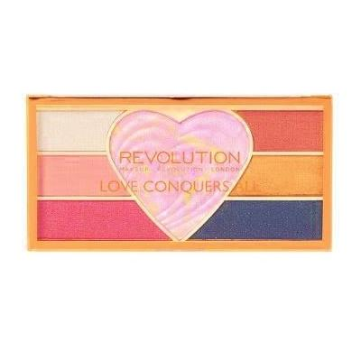 Makeup Revolution Love Conquers All Pigment & Highlighter Palette