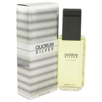 Quorum Silver by Puig Eau De Toilette Spray 3.4 oz