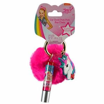 JOJO Siwa Lip Gloss Pom Pom Key Chain - Pink