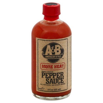 A & B American Style Extra Hot Pepper Sauce